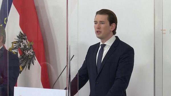 Австрия закрывается от нового штамма коронавируса 1