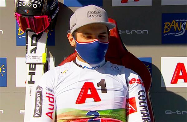 Француз Фэвр захватил лидерство в гиганте в Банско, Иван Кузнецов продолжит борьбу на второй трассе 1