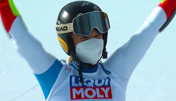 Лара Гут-Бехрами — чемпионка мира-2021 в слаломе-гиганте, Катя Ткаченко — 31-я 1