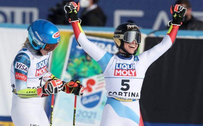 Неожиданная медаль: Лара Гут-Бехрами выигрывает второе золото 1