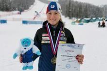 Рината Абдулкаюмова и Сергей Майтаков выиграли сегодня слалом на этапе Кубка России в Терсколе 1