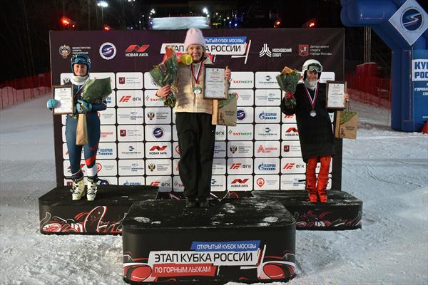 В Москве прошли соревнования Кубка России в параллельном слаломе 1