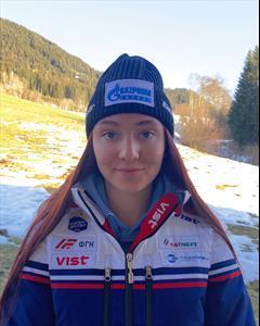 Анастасия Горностаева и Кристоф Крижль выиграли заключительный слалом на этапе Кубка Азии на Сахалине 1
