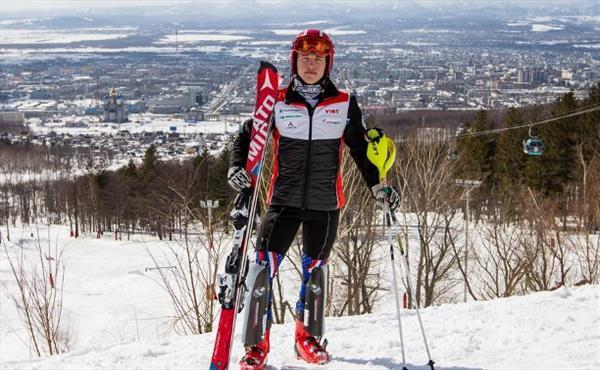 Екатерина Попова и Кирилл Казаков стали победителями 8-го этапа Кубка России в слаломе-гиганте 1