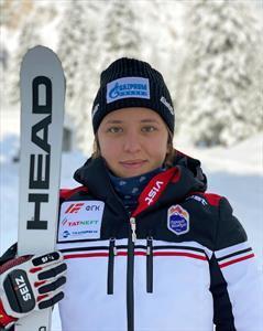 Юлия Плешкова — серебряный призер этапа Кубка Европы в Италии в супергиганте 1