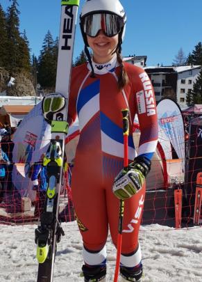 Юлия Плешкова — третья в зачете супергиганта в Кубке Европы по итогам сезона 1