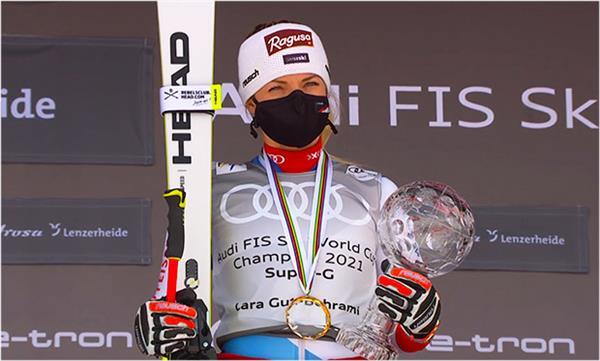Лара Гут-Бехрами — чемпионка Кубка мира по призовым деньгам 1