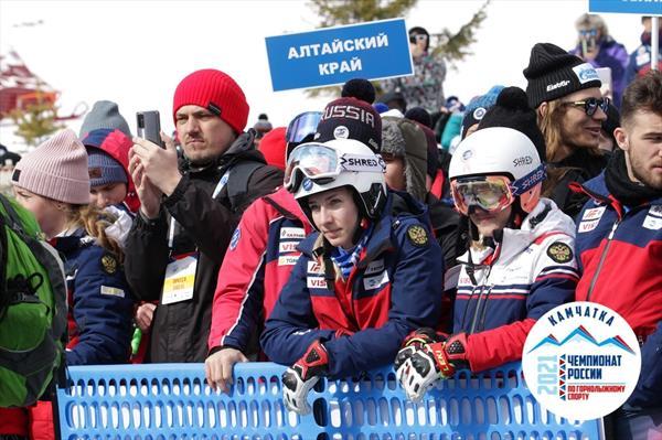 На Камчатке прошла церемония открытия чемпионата России по горнолыжному спорту 1