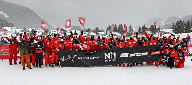 Швейцария второй год подряд выиграла Кубок наций 1