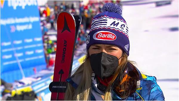 Микаэла Шиффрин стала первопроходцем в вакцинации элитных спортсменов-горнолыжников 1