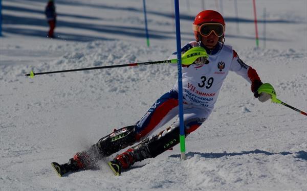 В Байкальске юные горнолыжники провели гонки в слаломе 1