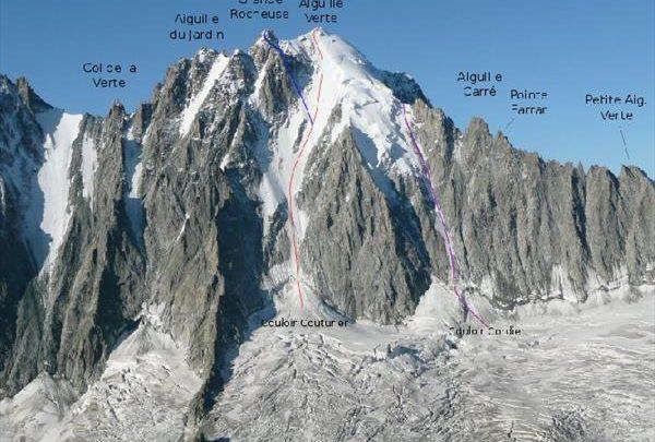 Два профессиональных горнолыжника погибли в лавине на Монблане 1