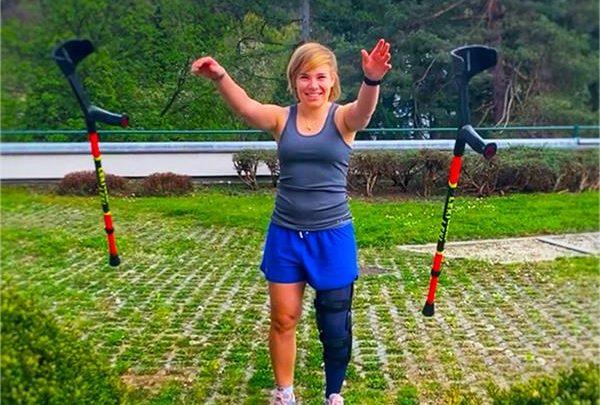 Николь Шмидхофер готовится приступить к тренировкам после прошлогодней травмы 1