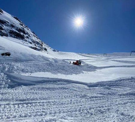 Около десятка горнолыжных курортов Европы и Азии будут работать весной и летом 1