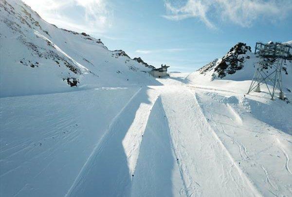 Открылся для катания самый крутой горнолыжный склон в Австрии 1