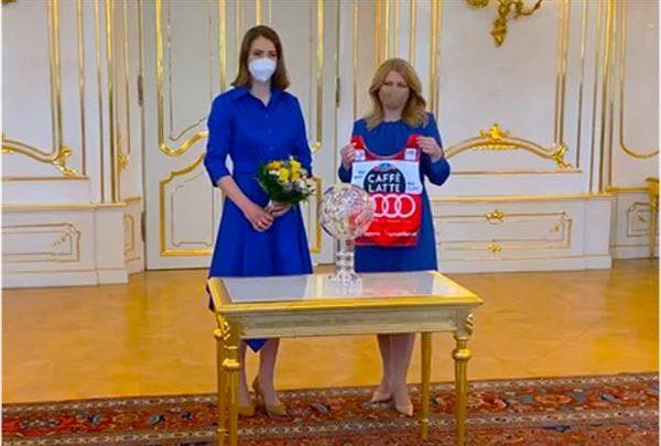 Спортивная майка Петры Влховой привела… к расследованию против президента Словакии 1