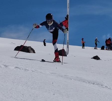 Демонстрационный курс горнолыжной техники в Терсколе прошли спортсмены команды Московской области 1