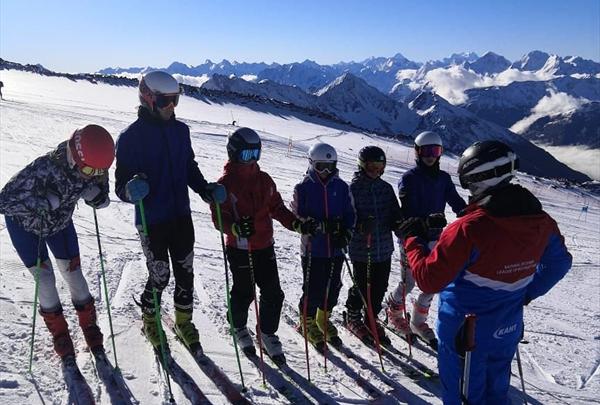 Новая программа для горнолыжников «Технический тренер» стартовала в Терсколе 1