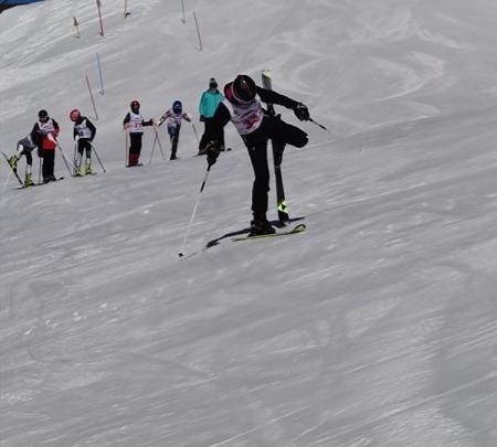 Заключительные занятия демонстрационного курса горнолыжной техники проведены со спортсменами Кабардино-Балкарии 1